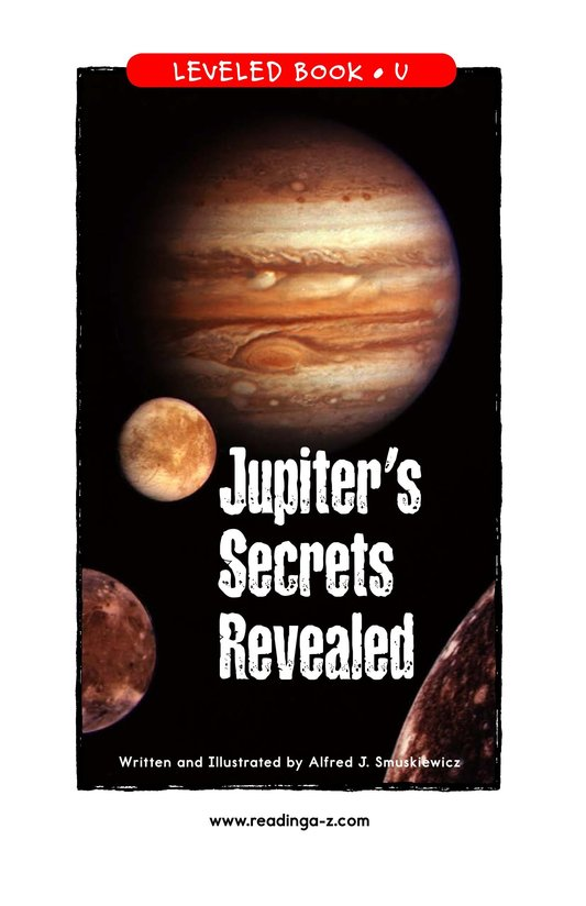 Book Preview For Jupiter's Secrets Revealed Page 1