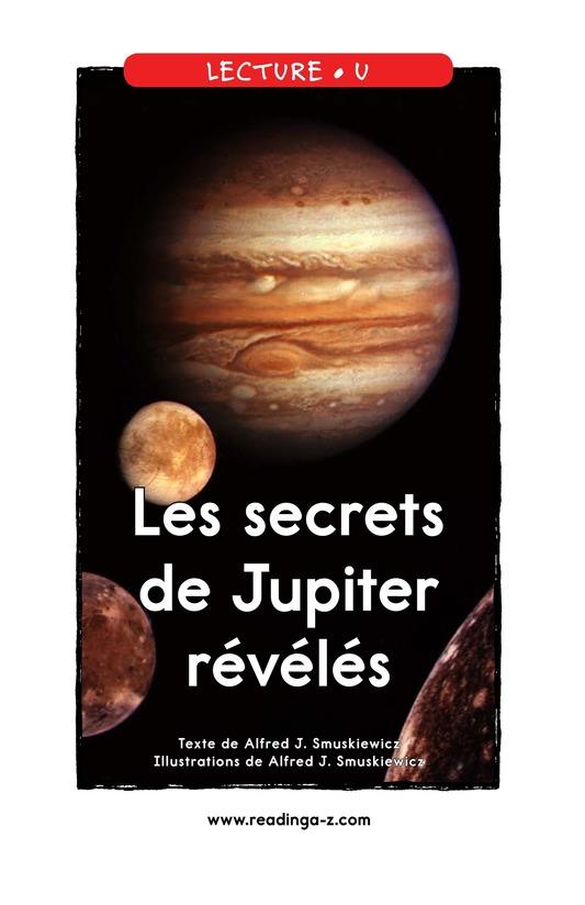 Book Preview For Jupiter's Secrets Revealed Page 1