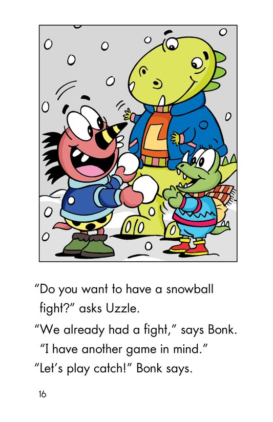 Book Preview For Monster Snow Day Page 16