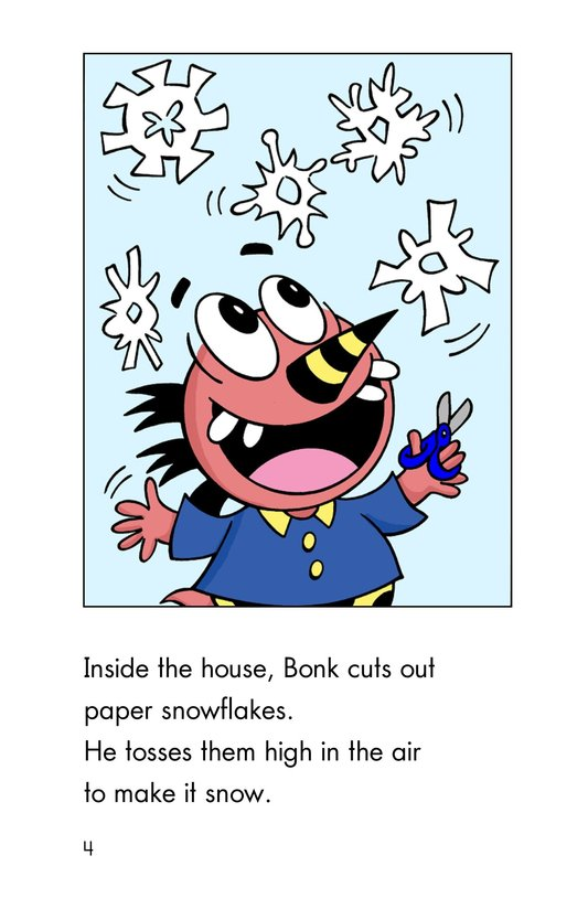 Book Preview For Monster Snow Day Page 4