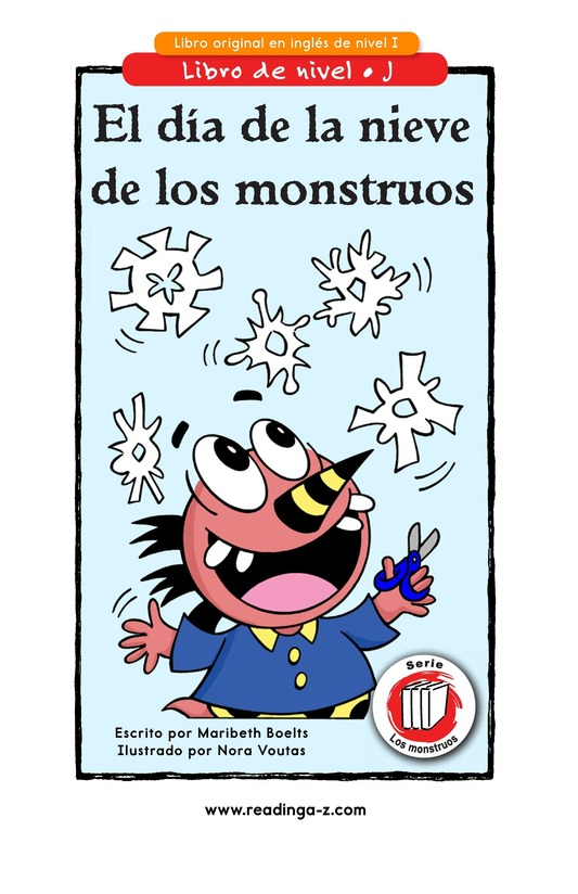 Book Preview For Monster Snow Day Page 1