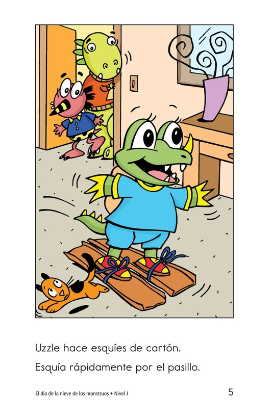 Book Preview For Monster Snow Day Page 5