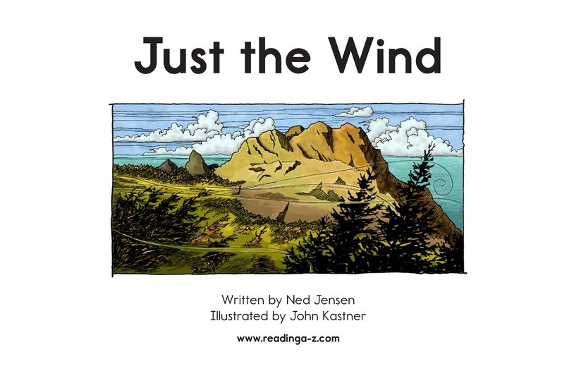 Book Preview For Just the Wind Page 2