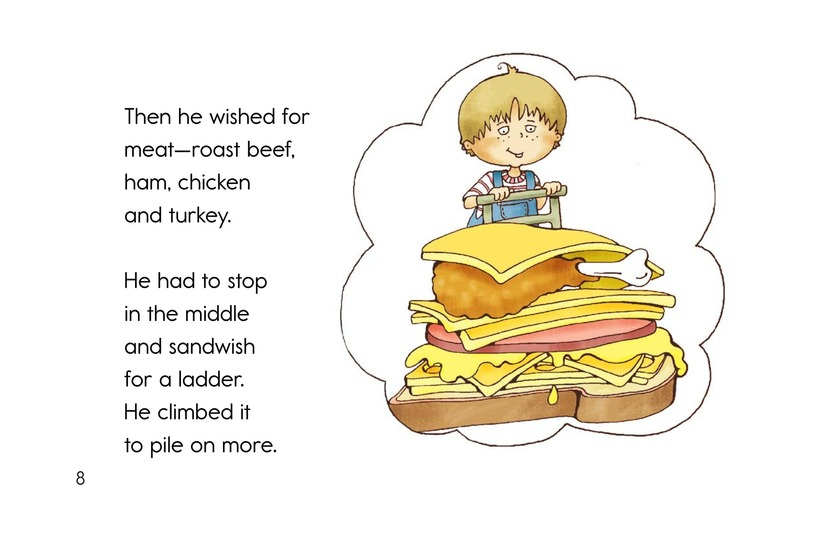 Book Preview For Soup and a Sandwish Page 8