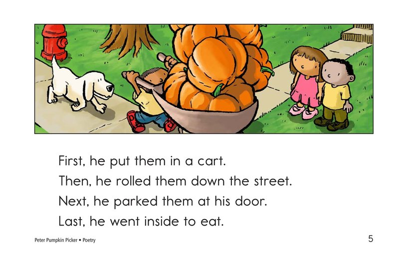 Book Preview For Peter Pumpkin Picker Page 5