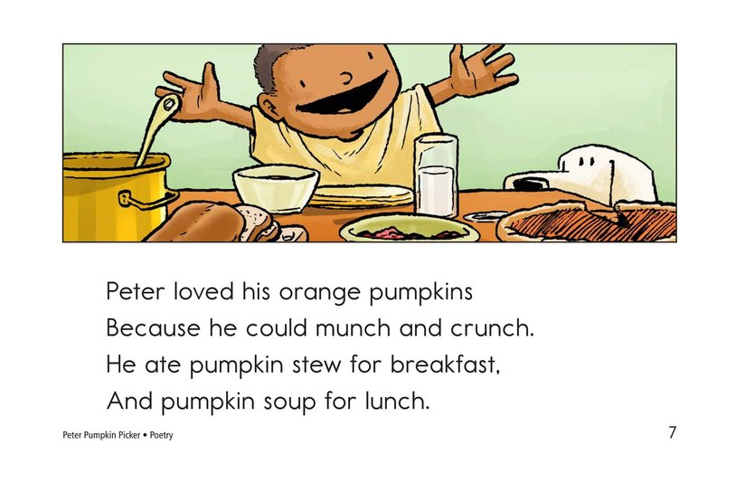Book Preview For Peter Pumpkin Picker Page 7