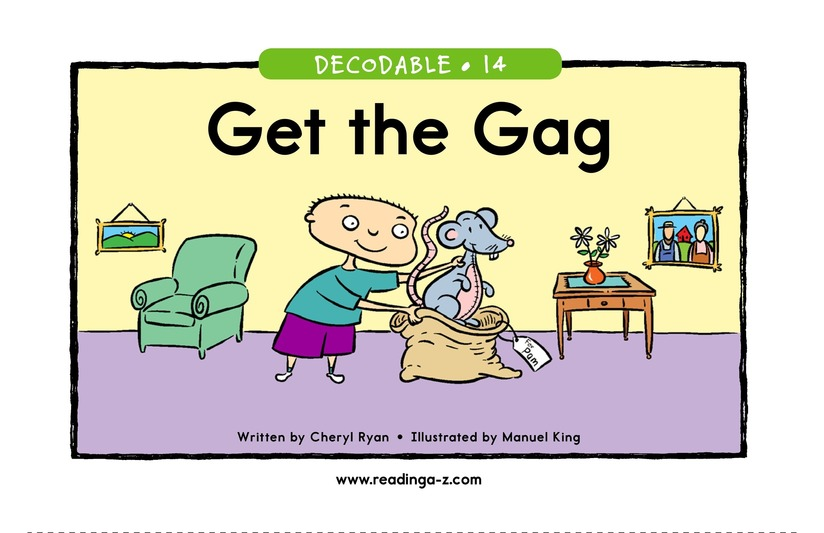 Book Preview For Get the Gag Page 1