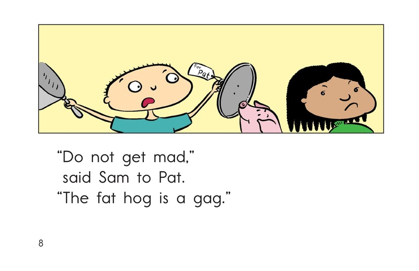 Book Preview For Get the Gag Page 8