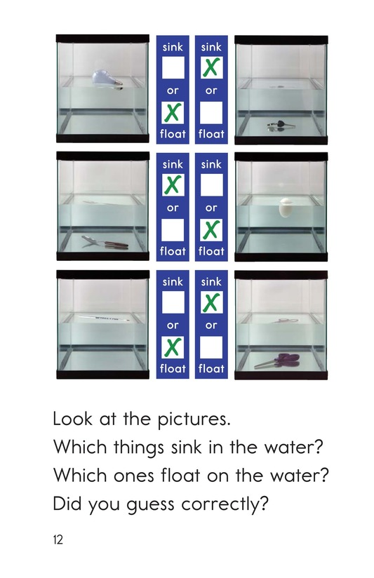 Book Preview For Does It Sink or Float? Page 12