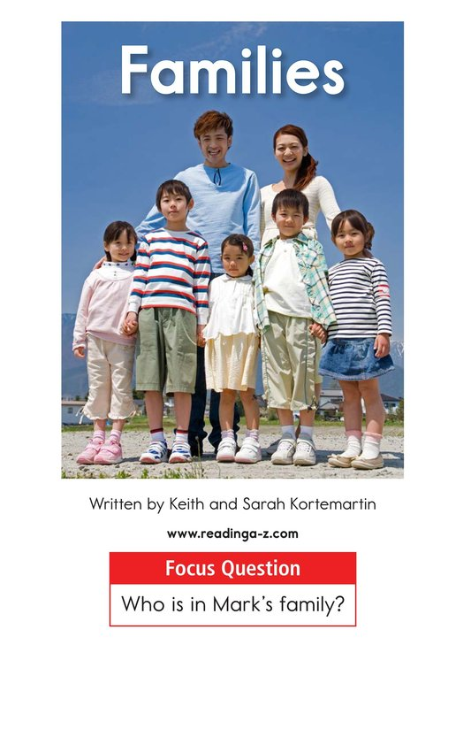 Book Preview For Families Page 1