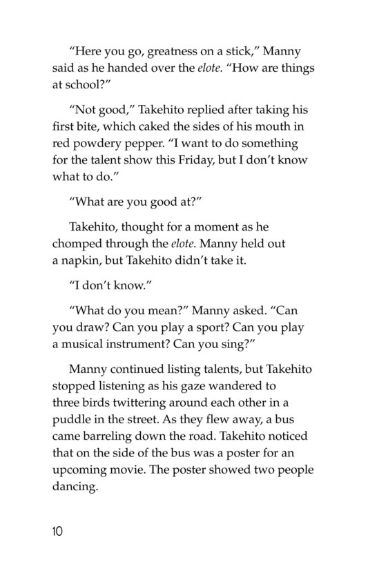 Book Preview For Takehito's Tango Page 10