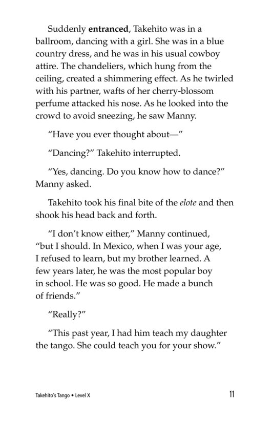 Book Preview For Takehito's Tango Page 11