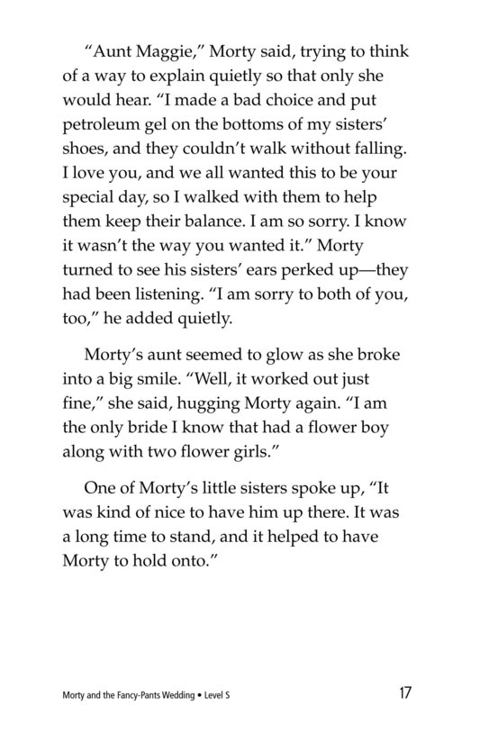 Book Preview For Morty and the Fancy-Pants Wedding Page 17
