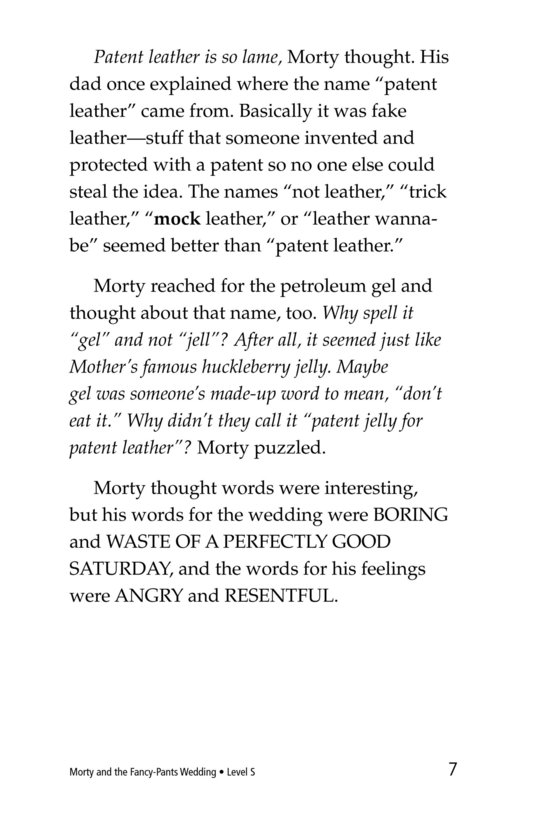 Book Preview For Morty and the Fancy-Pants Wedding Page 7