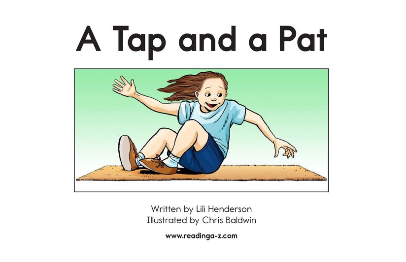 Book Preview For A Tap and a Pat Page 2