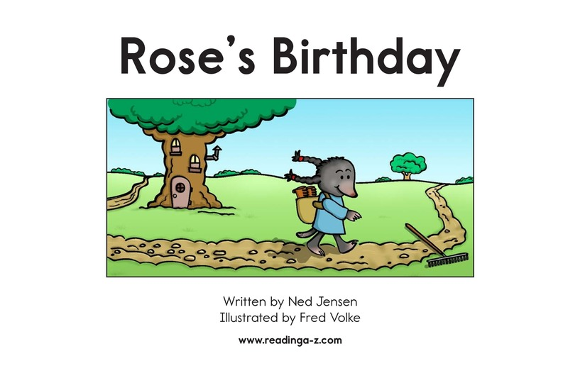 Book Preview For Rose's Birthday Page 2