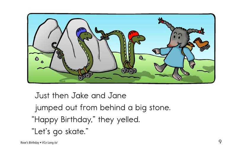 Book Preview For Rose's Birthday Page 9
