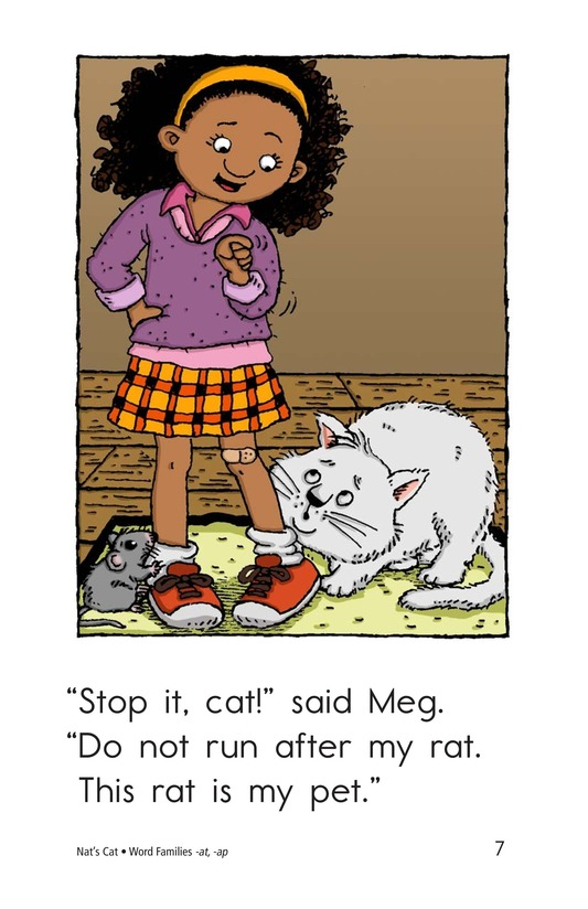 Book Preview For Nat's Cat Page 7