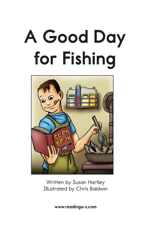 Book Preview For A Good Day for Fishing Page 2