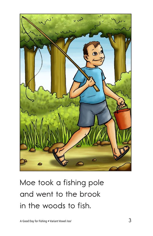 Book Preview For A Good Day for Fishing Page 3