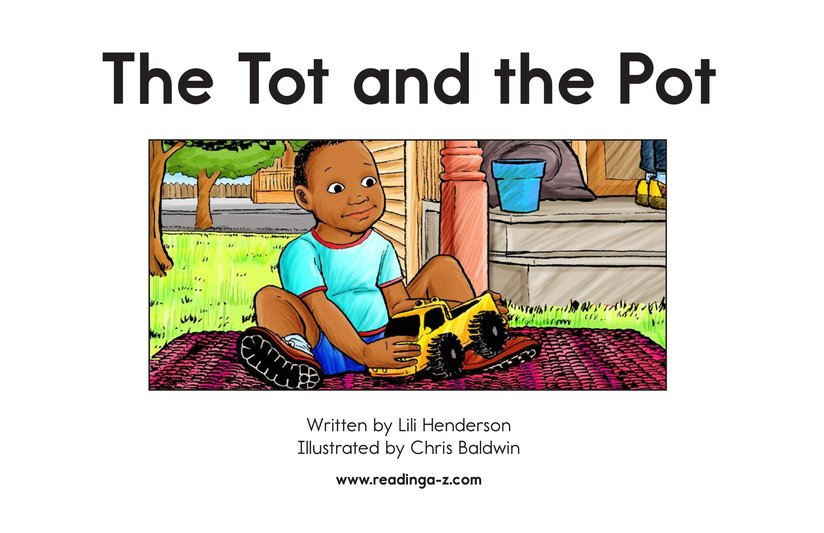 Book Preview For The Tot and the Pot Page 2