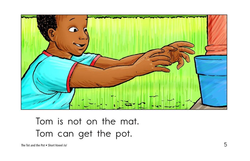 Book Preview For The Tot and the Pot Page 5