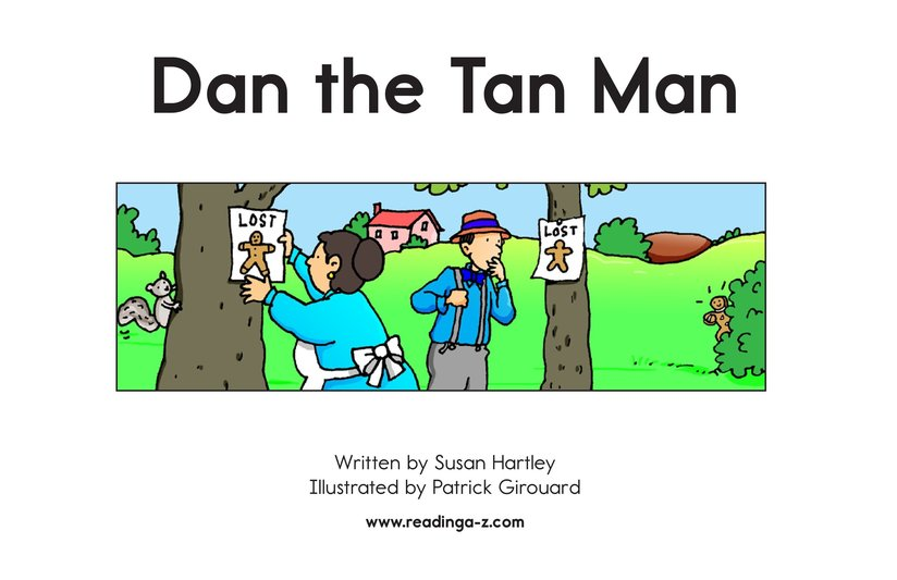 Book Preview For Dan the Tan Man Page 2
