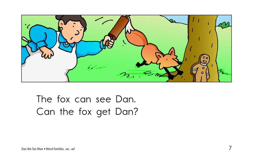 Book Preview For Dan the Tan Man Page 7