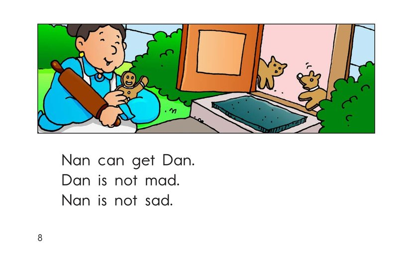 Book Preview For Dan the Tan Man Page 8
