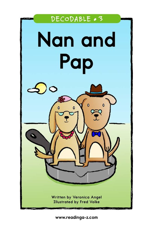 Book Preview For Nan and Pap Page 1