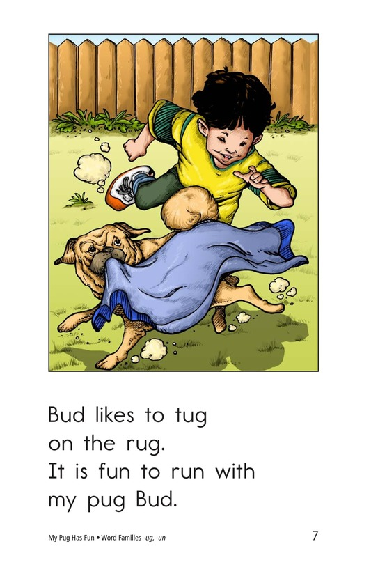 Book Preview For My Pug Has Fun Page 7