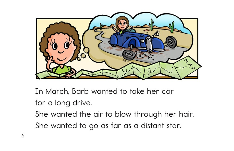 Book Preview For Barb's Sharp Car Page 6