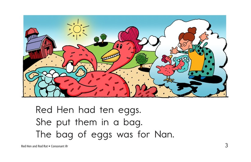 Book Preview For Red Hen and Rod Rat Page 3