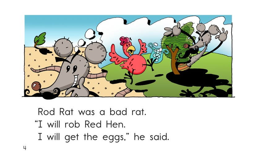 Book Preview For Red Hen and Rod Rat Page 4