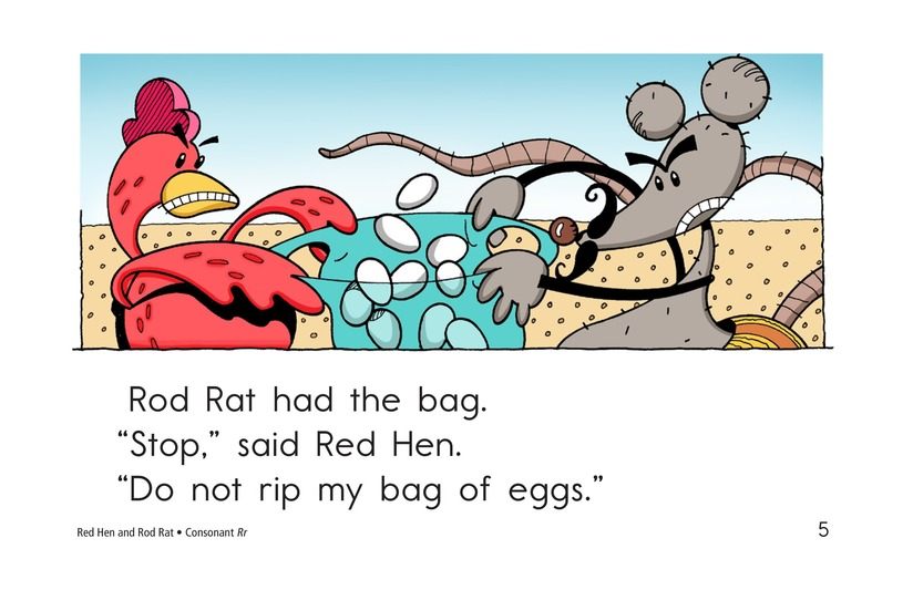 Book Preview For Red Hen and Rod Rat Page 5