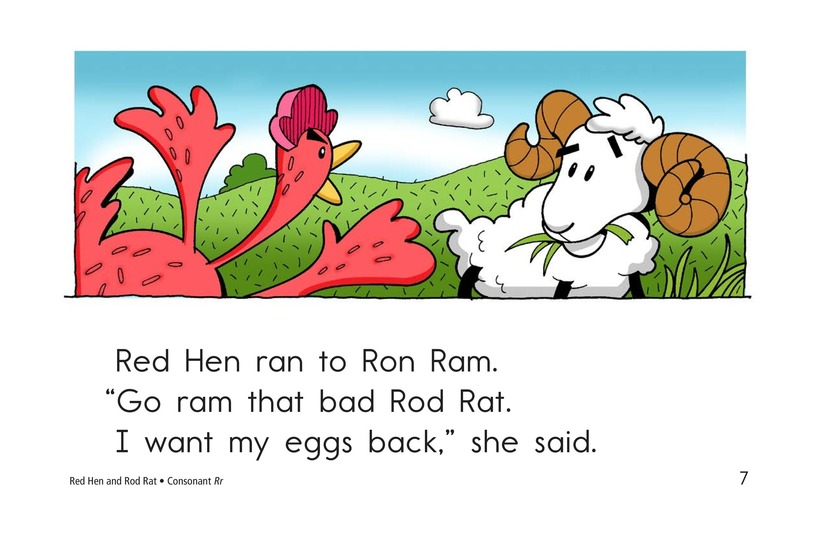 Book Preview For Red Hen and Rod Rat Page 7