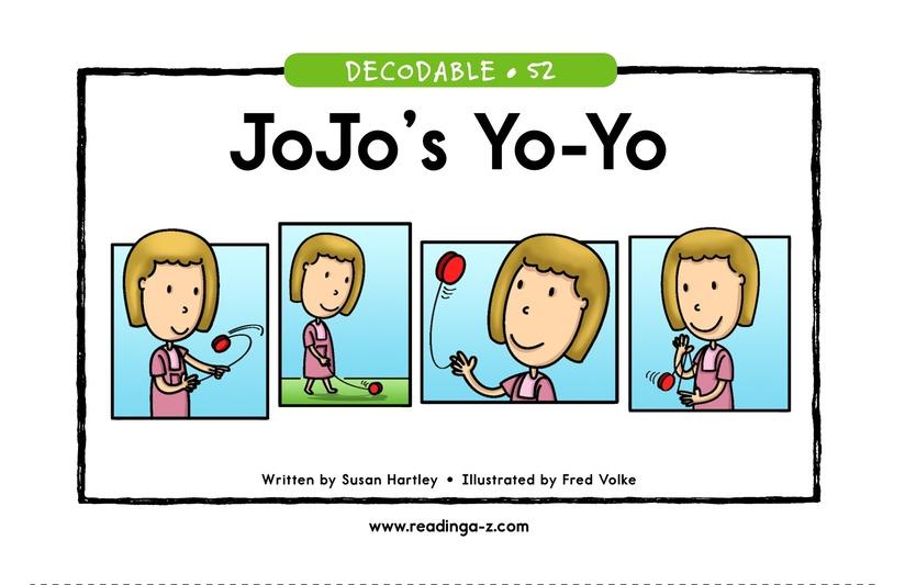 Book Preview For JoJo's Yo-Yo Page 1