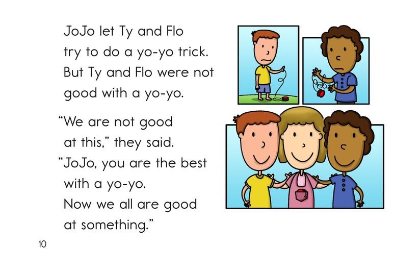 Book Preview For JoJo's Yo-Yo Page 10