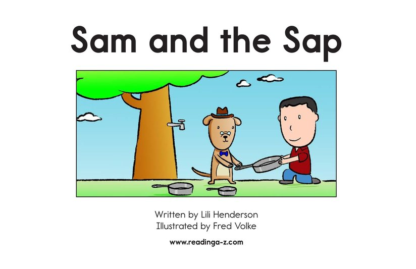 Book Preview For Sam and the Sap Page 2