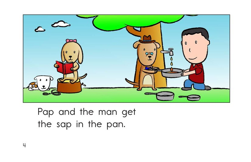 Book Preview For Sam and the Sap Page 4