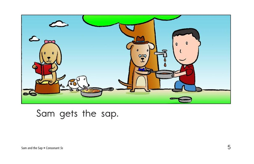 Book Preview For Sam and the Sap Page 5