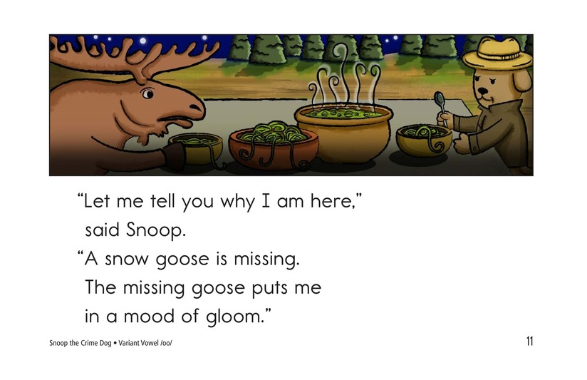 Book Preview For Snoop the Crime Dog Page 11