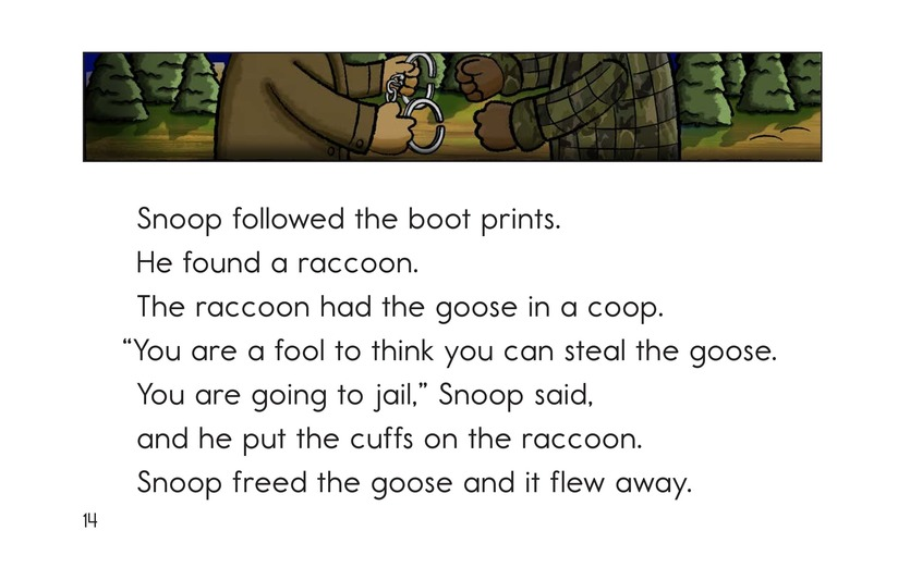 Book Preview For Snoop the Crime Dog Page 14