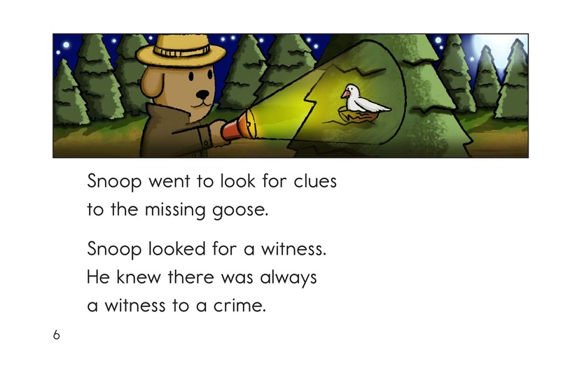 Book Preview For Snoop the Crime Dog Page 6