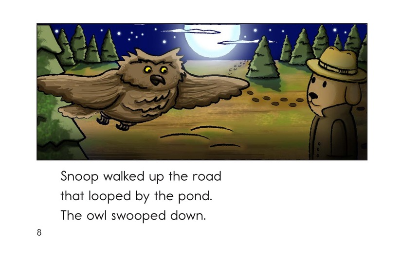 Book Preview For Snoop the Crime Dog Page 8