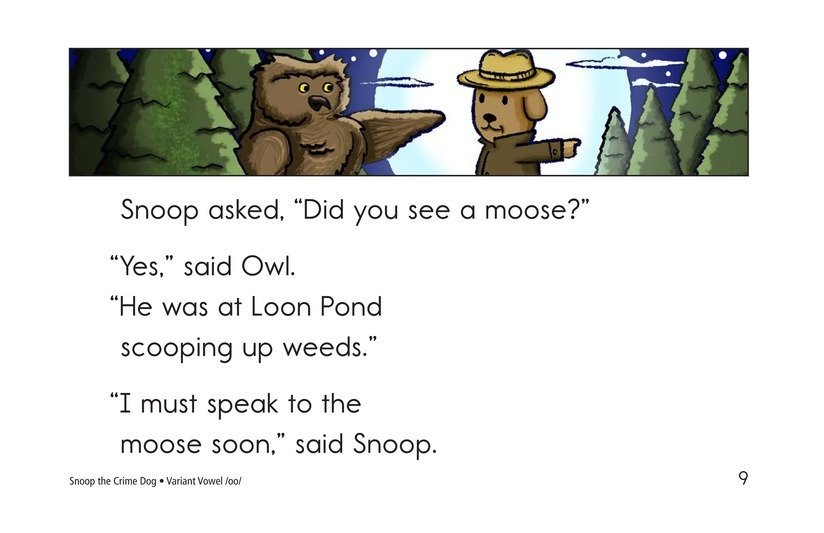 Book Preview For Snoop the Crime Dog Page 9