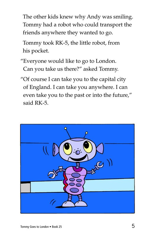 Book Preview For Tommy Goes to London Page 5