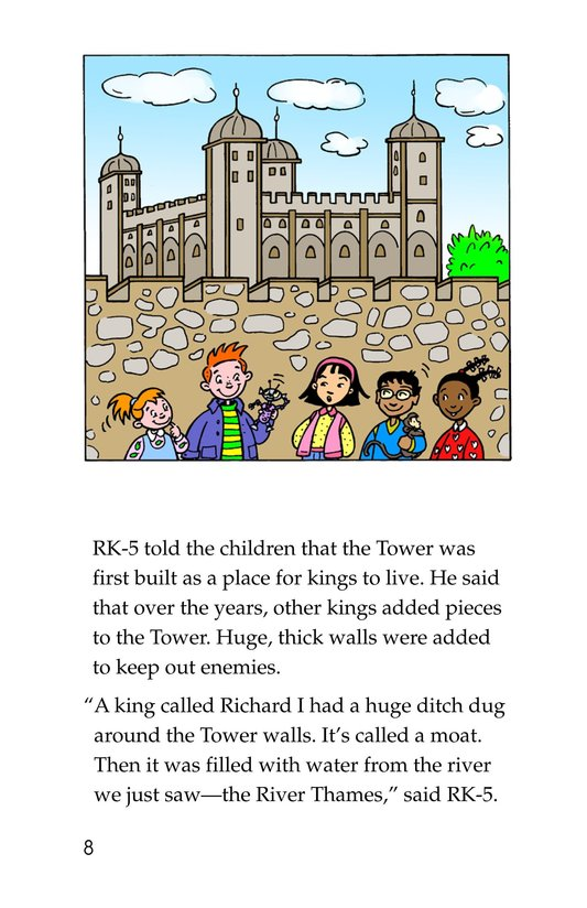 Book Preview For Tommy Goes to London Page 8