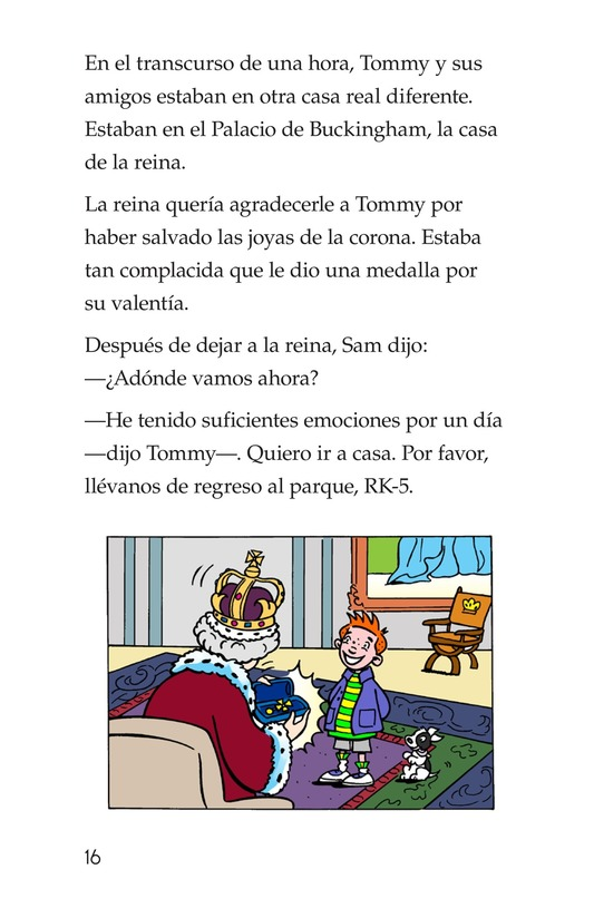 Book Preview For Tommy Goes to London Page 16