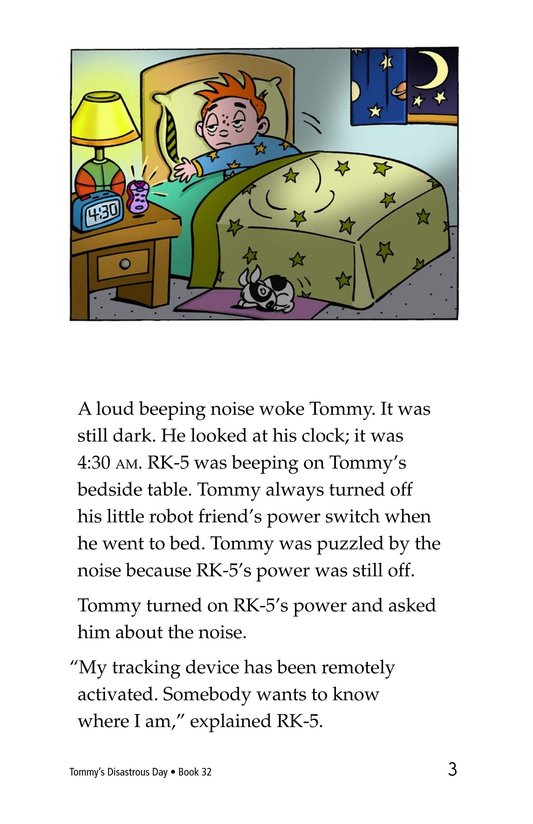 Book Preview For Tommy's Disastrous Day Page 3